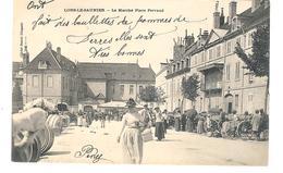 (39) France Jura Lons-le-Saunier Le Marché Place Perraud - Lons Le Saunier