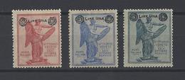 ITALIE. YT  N° 153-154-155  Neuf *  1924 - Neufs