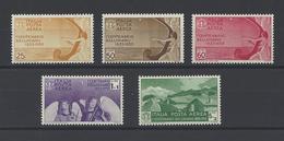 ITALIE. YT  PA N° 86/90  Neuf *  1935 - Posta Aerea