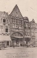 """59270 BAILLEUL - GRAND PLACE Et CAFE """"L' EPI DE BLE""""  Vers 1930 - Other Municipalities"""