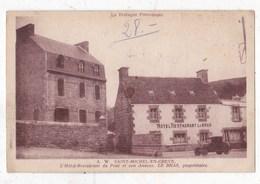 Carte Postale  St Michel En Greve Hotel Restaurant Du Pont Et Son Annexe - Saint-Michel-en-Grève