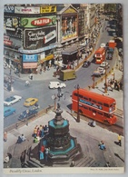 LONDON UK - PICCADILLY CIRCUS - Fuji Film, Volvo, DEATH RACE 2000 MOVIE (cinema Film), Double Decker, Spearmint  Vg - Piccadilly Circus