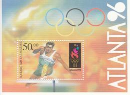 1996 Kazakhstan Olympics Atlanta Souvenir Sheet MNH - Kazakhstan