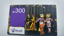Nepal-NCELL-(rs.300)-(22)-(1276788051171)-()-used Card - Nepal