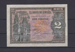 EDIFIL 429a.  2 PTA 30 DE ABRIL DE 1938.  SERIE L. CONSERVACIÓN EBC - [ 3] 1936-1975 : Régimen De Franco