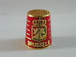 """Dé En Cloisonné """"Brugges"""" - Dés à Coudre"""