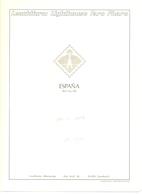 España - Suplemento LEUCHTTURM 1950/1959 - Montado Con Filaestuches Transparentes - 17 Hojas - Envio Gratuito A España - Pre-Impresas
