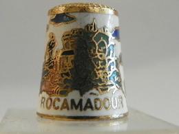 """Dé En Cloisonné """"Rocamadour"""" - Dés à Coudre"""