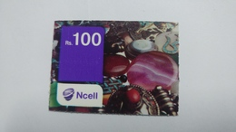 Nepal-NCELL-(rs.100)-(25)-(4976783620576)-()-used Card - Nepal