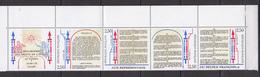 N° B2605A: Une Bande Avec Vignette: Bicentenaire De La Déclaration Des Droits De L'Homme: Timbres Neuf Impeccable - France