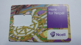 Nepal-NCELL-g.s.m.(here For Nepal)-(27)-(89977021020518886)-()-used Card - Népal