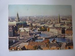 "Cartolina Viaggiata ""View Of Copenhagen"" 1980 - Danimarca"