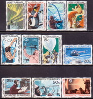 Australian Antarctic Territory 1966-68 SG #8-18 Compl.set Used - Used Stamps