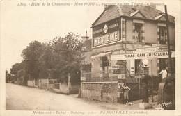 BENOUVILLE-hôtel De La Chaumière-restaurant Tabac Dancing - Autres Communes