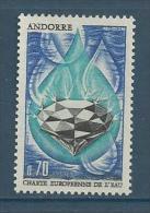 "Andorre YT 197 "" Charte De L'eau "" 1969 Neuf** - Nuovi"