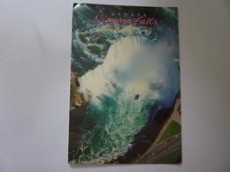 """Cartolina Viaggiata """"NIAGARA FALLS"""" 2001 - Cartoline Moderne"""