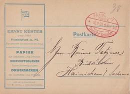 DR Karte Gebühr Bezahlt Frankfurt (Main) 10.9.23 - Deutschland