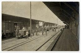 Bahnhof,Eisenbahn - Oorlog 1914-18