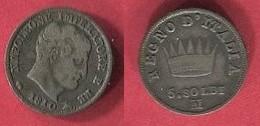 REGNE D ITALIE    ( KM 5.1 ) TB 4 - Monnaies Régionales