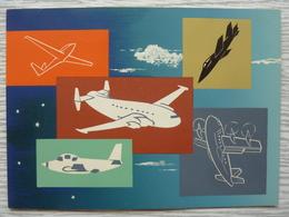Louis Breguet, Carte De  Voeux De 1959 Avec Envoi Du Personnel Du Département Essai En Vol - Avion