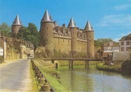 56 Josselin Le Château Et Le Pont Sainte Croix (2 Scans) - Josselin