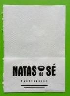 Servilleta,serviette .Natas Pastelaria. Braga.Portugal - Servilletas Publicitarias
