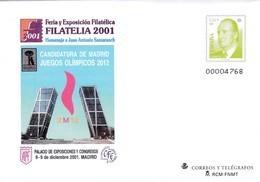 España Sobre Entero Postal Nº 74 - Stamped Stationery