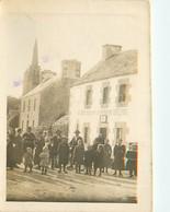 Carte Photo De PLOUGRAS En 1920 - France