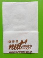 Servilleta,serviette .Nut,espalha Magia.Portugal - Serviettes Publicitaires