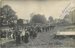 GUE D'HOSSUS- Rare Carte Photo De L'inauguration Du Monument Aux Mort -carte écrite Par Le Maitre D'école - France