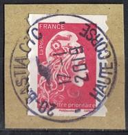France 2018 Oblitéré Rond Daté Used Marianne L'engagée D'Yseult Digan LP 20g. SU - 2018-... Marianne L'Engagée