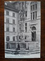 Suisse. Fribourg. Fontaine De Samson - FR Fribourg