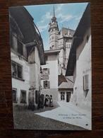 L17/188 Suisse. Fribourg. Court Chemin Et Hotel De Ville - FR Fribourg