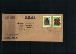 Aitutaki 1994 Interesting Airmail Letter - Aitutaki
