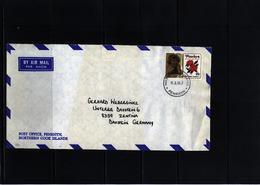 Penrhyn 1988 Interesting Airmail Letter - Penrhyn