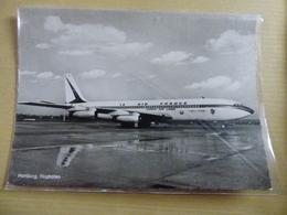AEROPORT / FLUGHAFEN / AIRPORT      HAMBURG  B 707 AIR FRANCE / JAPAN AIR LINES - Aérodromes