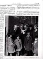 """1929 Fête Nationale De L'Armistice M.Clemenceau Accueille Les """"Vendéens De Paris""""verso ,Coblence M.Tirard Fête Des Morts - Vieux Papiers"""