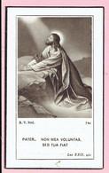 Bidprentje - Léonie Sophie Marie MASQUELIER Veuve De Monsieur Désiré CARETTE - Messines 1864 - Ypres 1952 - Devotieprenten