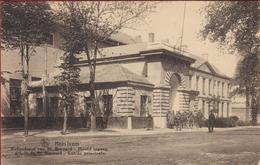 Hemixem Hemiksem St. Bernard Hoofd Ingang Krijgsdepot (grote, Dubbele Kreuk) - Hemiksem