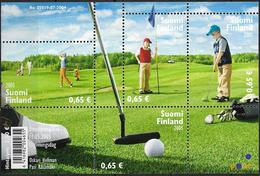 2005 Finnland Mi. Bl 36 **MNH  Golf Als Familiensport. - Unused Stamps