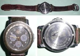 Rare Montre à Quartz Camel Trophy Adventure Watches, Tabac - Montres Publicitaires