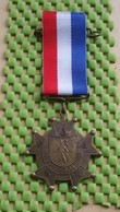 Medaille / Medal - Medaille - Avondvierdaagse NR : 6 - F.N.W.B.  - The Netherlands - Nederland