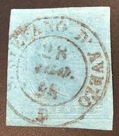 """S.STEFANO D' AVETO"" R3 (Liguria Genova) Sardegna 1853 20c(Italia Italy Sardaigne Sardinia Italie Antichi Stati Italiani - Sardaigne"