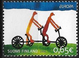 2006  Finnland Mi. 1810 **MNH   Europa: Integration. - Unused Stamps