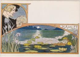 HAMLET - SALAMMBO - SAPHO - Art Nouveau, Charme, Erotisme - 3 CPM TBon Etat (voir Scan) - Opéra
