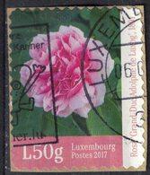 Luxembourg 2017 Oblitéré Used Fleur Rose Grand Duc Adolphe SU - Oblitérés