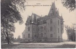 Château De Kériou En Gouëzec - Façade (nord) - TBE - Gouézec