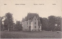Château De Kériou En Gouëzec - Façade Est - TBE - Gouézec
