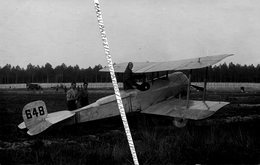 CARTE PHOTO / AVION / BRISTOL SCOUT B / 648 / COMPTOIR PHOTO DE L' OUEST - LE MANS - Aviation