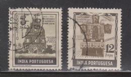 PORTUGUESE INDIA Scott # 509, 515 Used - Portuguese India